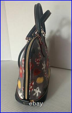 Dooney & Bourke Disney Mickey Mania Body Parts Satchel Bag Rare Best Of Mickey