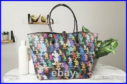 Dooney & Bourke Disney Mickey Mouse 10th Anniversary Tote Handbag Bag Purse