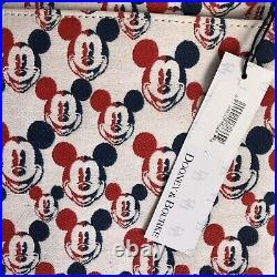 Dooney & Bourke Disney Mickey Mouse Americana July 4th Crossbody Hand Bag Purse