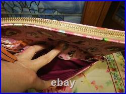 Dooney & Bourke Disney Pink Dogs crossbody purse bag Lady Tramp, 101, Stitch