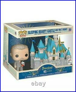 Funko POP! Sleeping Beauty Castle and Walt Disney Funko Pop