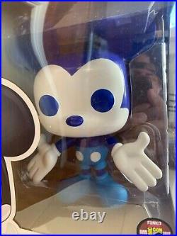 Funko Pop! SDCC San Diego Comic Con 2012 Disney 9 Blue Mickey Mouse LE 480