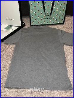 Gucci Mickey Mouse oversized shirt (Medium) with Gucci X Disney bag & Box