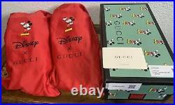 Gucci X Disney Mickey Mouse Designer Slides Flip Flops Size US 9.5 Women / 8 Men