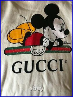 Gucci X Disney Oversized Mickey Mouse Hoodie