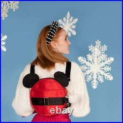 Harveys Disney Mickey Santa Seatbelt Convertible Crossbody Bag