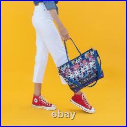Harveys Seatbelt Bag Medium Streamline Tote Disney Patchwork FREE SHIP