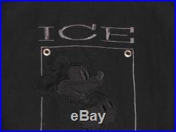 Iceberg Bomber Jackemickey Mouse Walt Disneyvintageschwarzgr Lwie Neu