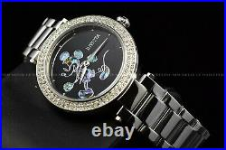 Invicta 38mm Women's Disney Limited Edition Micky Mouse Silver Black SS Watch