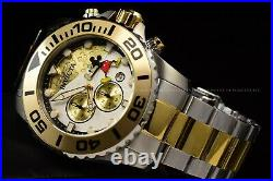 Invicta 50mm Disney Limited Ed Micky Mouse 90th Anniversary Chron Two Tone Watch