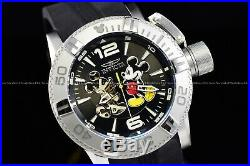 Invicta 50mm Disney Limited Edition Mickey Mouse Automatic Open Heart SS Watch