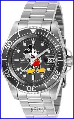 Invicta Men's 24610'Disney' Mickey Mouse Automatic Stainless Steel Watch