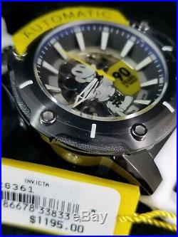 Invicta Mens 28361 Disney Mickey Mouse 90 YRS Limited Edition Automatic Watch
