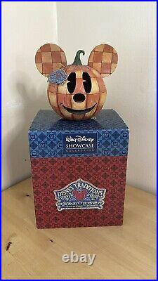 Jim Shore Mickey Mouse Happy Halloween 4011044 Walt Disney Traditions. Boxed