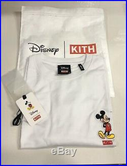 KITH x DISNEY Mickey Mouse 90S Classic Logo Tee 90th Anniversary MEDIUM White
