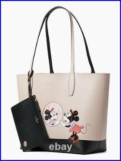 Kate Spade Minnie Mouse Large Reversible Tote Disney Minnie X Ksny Nwt $379