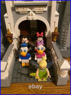 LEGO Disney Princess The Disney Castle (71040) Used and Complete L@@K