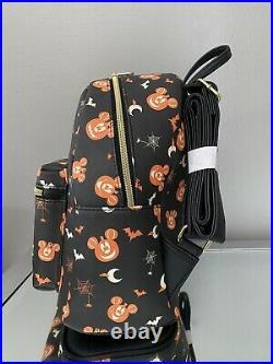 LOUNGEFLY DISNEY MICKEY MOUSE PUMPKIN MINI BACKPACK Halloween Fall
