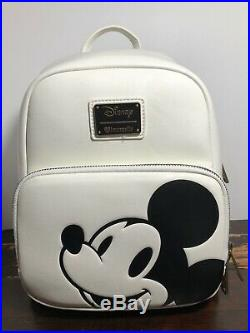 Loungefly Disney Classic Mickey Mouse Mini Backpack Bag NWT