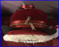 Loungefly Disney Parks Santa Mickey Mouse Christmas Mini Backpack NEW