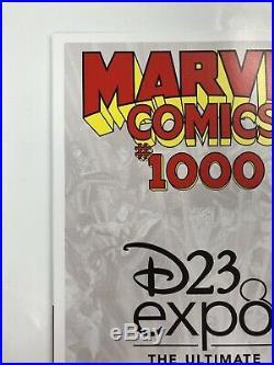 Marvel Comics #1000 Disney D23 Expo Virgin variant Mickey Mouse cover