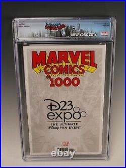Marvel Comics #1000 (Marvel, 2019) CGC 9.8 D23 Expo Edition