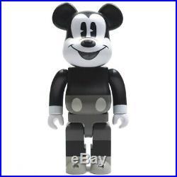 Medicom BE@RBRICK Disney Mickey Mouse Black And White Ver 400% Bearbrick Figure