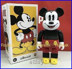 Medicom Be@rbrick 2018 Disney 400% Mickey Mouse Laughing ver. Bearbrick 1pc