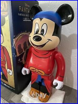 Medicom Bearbrick 2021 Disney Fantasia Mickey Mouse 1000% bearbrick brand new
