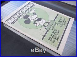 Mickey Mouse Book BIBO & LANG 1930 Disney EXTREMELY RARE 1 of The Top GRADES