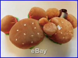Mickey Mouse Hamburger Tote bag Coin case Cushion Specia Set Tokyo Disney Resort