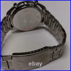 Mickey Mouse x SEIKO Watch Speedmaster Chronograph Disney Limited Silver New