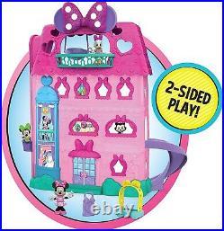 Minnie Mouse Bow-Tel Hotel Ages 3+ Toy Play Dollhouse House Doll Disney Junior
