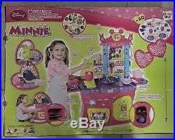 Minnie Mouse Kitchen Ages 3+ New Toy Doll House Play Girls Mickey Mouse Cook Fun