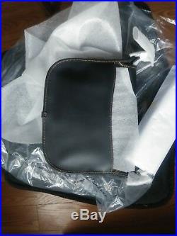 NEW Disney Coach X Mickey Mouse Patricia Saddle Crossbody Bag Black F59359