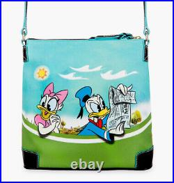 NEW Disney Dooney & Bourke Mickey Mouse and Friends Skyliner Crossbody Bag Purse