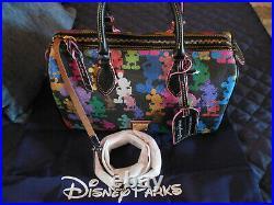 NEW Dooney & Bourke Disney Wonder Satchel Mickey Mouse Handbag Speedy Duffle