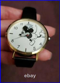 NIXON × Mickey Mouse Long Way Down Watch Arrow Leather Disney NEW AUTHENTIC