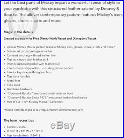 NWTDooney & BourkeDisneyI Am Mickey MouseSatchel 19109M S188