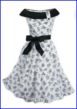 NWT Disney Parks Mickey Mouse Sketch Dress for Women 90th Anniversary Dress
