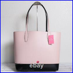 NWT Disney x Kate Spade New York Minnie Mouse Large Leather Reversible Tote