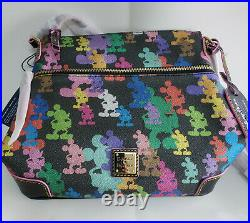 NWT Dooney & Bourke Disney Mickey Mouse 10th Anniversary Letter Carrier Bag