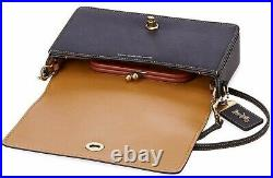 NWT Genuine COACH Disney Minnie Mouse Dinky Leather Convertible Crossbody