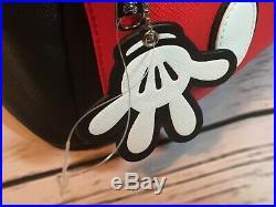 NWT Mickey Mouse Ears Mini Backpack Walt Disney Loungefly Black School Purse Bag