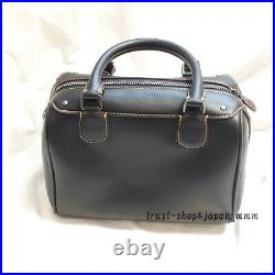 New Coach x Disney Mickey Mouse Bennett Shoulder Bag Black From Japan EMS