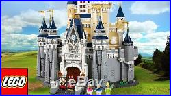 New LEGO The Disney Castle Cinderella Snow White 71040 + Surprise Gift from DL