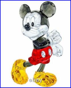 New in Box $325 SWAROVSKI Crystal Living Disney Mickey Mouse #5135887 Rare