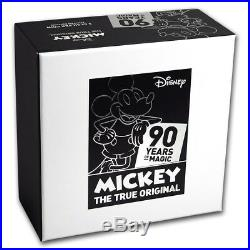 Niue -2018- 2 OZ Silver Proof Coin- DISNEY MICKEY MOUSE 90TH ANNIVERSARY