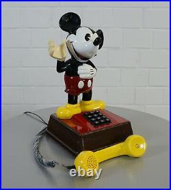 Orig. Walt Disney DFeAp 322 Mickey Mouse Telefon Tischtelefon Zettler Post 12.88