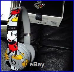 Original Apple Beats By Dr Dre Solo 3 Wireless Kopfhörer Mickey Mouse Disney 90